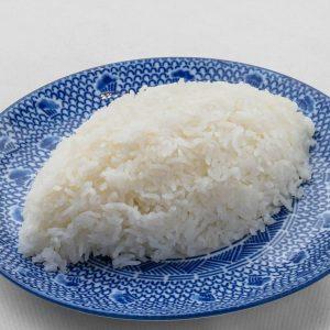 名古屋駅(名駅)にある本格タイ料理店「マイペンライ」で食べられる味も香りもとても良いお米カオホンマリ使用の「ジャスミンライス」の画像
