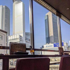 名古屋・名駅でおすすめのタイ料理店「マイペンライ 名駅店」から見える外の景色。