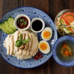 名古屋駅2分の場所にあるタイ料理専門店「THAI FOOD・DINING マイペンライ 名駅店」のおすすめメニュー「カオマンガイ」の画像