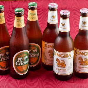 名古屋でのランチ、ディナーなどご飯利用におすすめタイ料理専門店「THAI FOOD・DINING マイペンライ 名駅店」で提供中のエスニック料理に合う「ビール」の画像