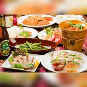 名古屋でのランチ、ディナーなどご飯利用におすすめタイ料理専門店「THAI FOOD・DINING マイペンライ 名駅店」でご提供中の人気コース「トムヤムクンコース」の画像