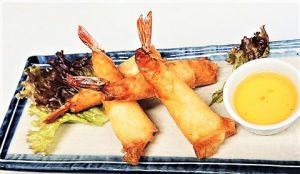 名古屋でのランチ、ディナーにおすすめのタイ料理専門店「THAI FOOD・DINING マイペンライ 名駅店」で提供中のメニュー「ポッピア・クン」の画像