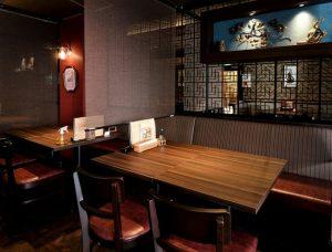 名古屋でのランチ、ディナーなどご飯利用におすすめタイ料理専門店「THAI FOOD・DINING マイペンライ 名駅店」の店内画像