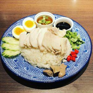 名古屋でのランチ、ディナーなどご飯利用におすすめタイ料理専門店「THAI FOOD・DINING マイペンライ 名駅店」で提供中の人気メニュー「カオマンガイ」の画像