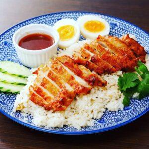 名古屋でのランチ、ディナーなどご飯利用におすすめタイ料理専門店「THAI FOOD・DINING マイペンライ 名駅店」で提供中の「カオマンガイ・トード」の画像