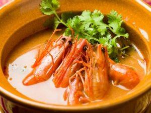 名古屋でのランチ、ディナーにおすすめのタイ料理専門店「THAI FOOD・DINING マイペンライ 名駅店」で提供中のトムヤムクンの画像