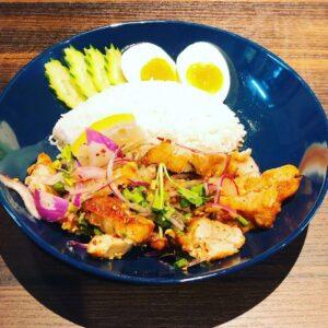 名古屋でのランチ、ディナーなどご飯利用におすすめタイ料理専門店「THAI FOOD・DINING マイペンライ 名駅店」で提供中の「ヤムガイ・トード」の画像