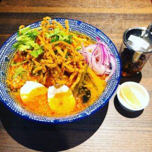 名古屋でのランチ、ディナーなどご飯利用におすすめタイ料理専門店「THAI FOOD・DINING マイペンライ 名駅店」でご提供中の「カオソーイ」の画像