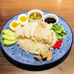 名古屋でのランチ、ディナーなどご飯利用におすすめタイ料理専門店「THAI FOOD・DINING マイペンライ 名駅店」で提供中の「カオマンガイ」の画像